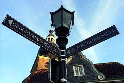 Straßenschild Altstadt Lennep