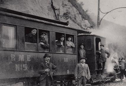 Ronsdorf-Müngstener-Eisenbahn in Müngsten