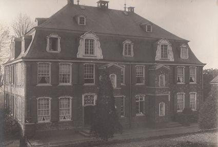 Haus Cleff (früher Hilger) aufgenommen um 1900